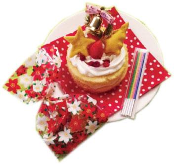 ペットのクリスマスケーキ