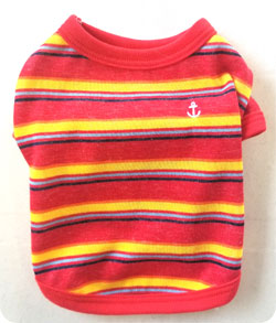 マリンボーダーTシャツ赤