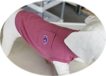 ロゴ刺繍ポケットタンク